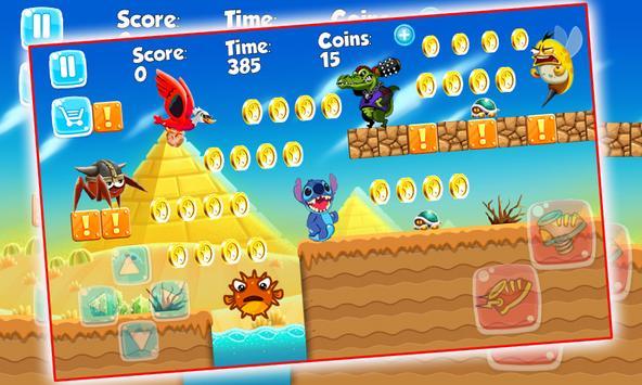 Lilo Adventure and Stitch World apk screenshot
