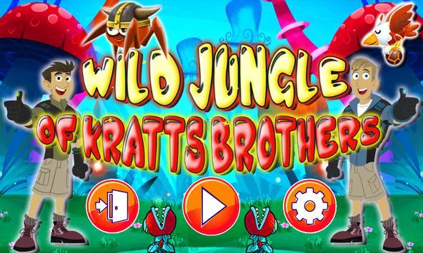 Wild Jungle Of Kratts Brothers apk screenshot