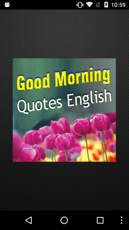 Good Morning Quotes In English For Android Apk Download