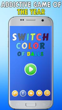 Swap Color Ball poster