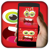 Funny Face Go Keyboard theme icon