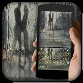 Raindrops Keyboard Theme icon