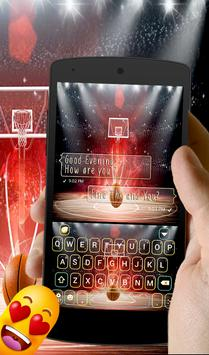 Basketball Keyboard PRO apk screenshot