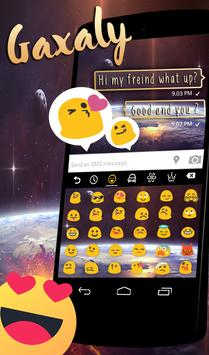 Smart Emoji Keyboard for Glaxay Note 8 screenshot 1