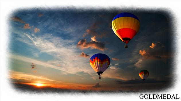Hot Air Balloon Wallpaper poster