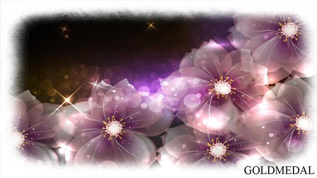 Glowing Flowers Wallpaper apk screenshot