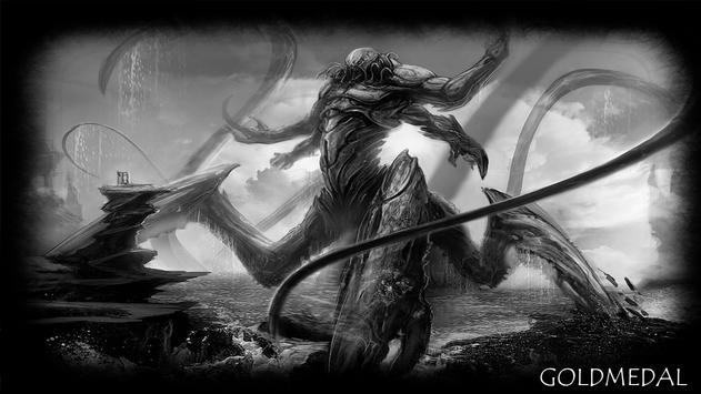 Kraken Monster Wallpaper apk screenshot