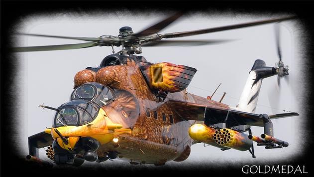 War Helicopter Wallpaper apk screenshot