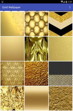 Gold Wallpaper apk screenshot