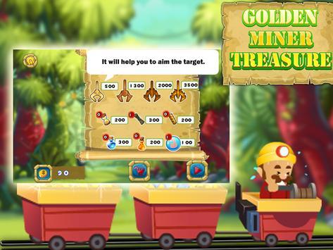 Golden miner treasure apk screenshot