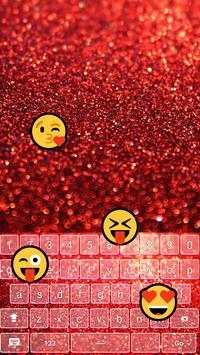 Glowing Glitter Keyboard Emoji apk screenshot