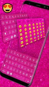 Pink Glitter Keyboard screenshot 2