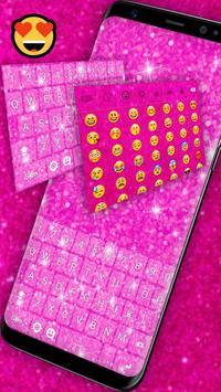 Pink Glitter Keyboard screenshot 3