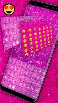 Pink Glitter Keyboard screenshot 4