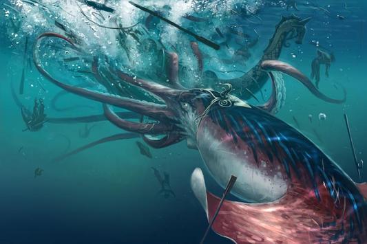 Kraken Live Wallpaper poster