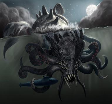 Kraken Live Wallpaper screenshot 1
