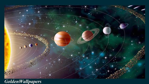 Solar System Wallpaper Poster