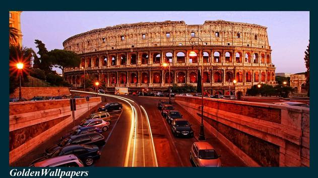 Rome Wallpaper poster