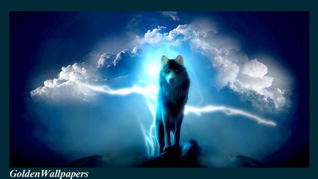 Wolf Wallpaper Animal poster