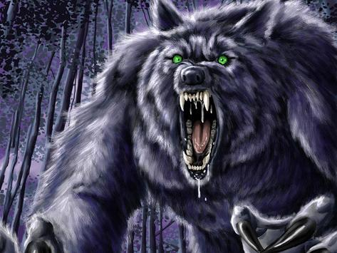 Werewolf Live Wallpaper Magic apk screenshot