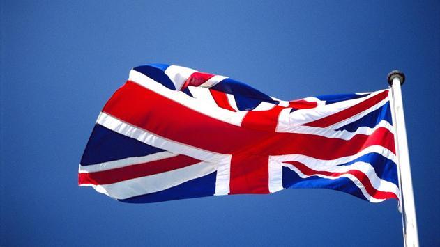 United Kingdom Flags Wallpaper poster