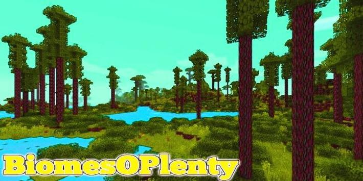 BiomesOPlenty Minecraft PE for Android - APK Download