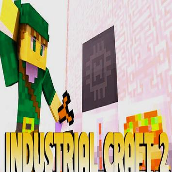 Industrial Craft mod for Minecraft PE poster