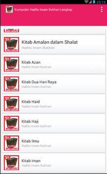 Kumpulan Hadits Shahih Bukhari Lengkap poster