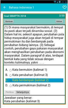 Latihan Soal SBMPTN screenshot 3