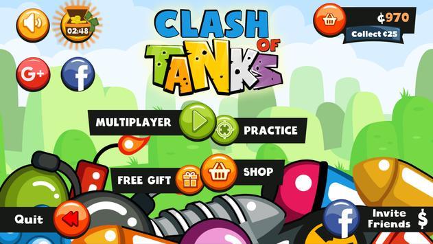 Clash Of Tanks - Multiplayer screenshot 1