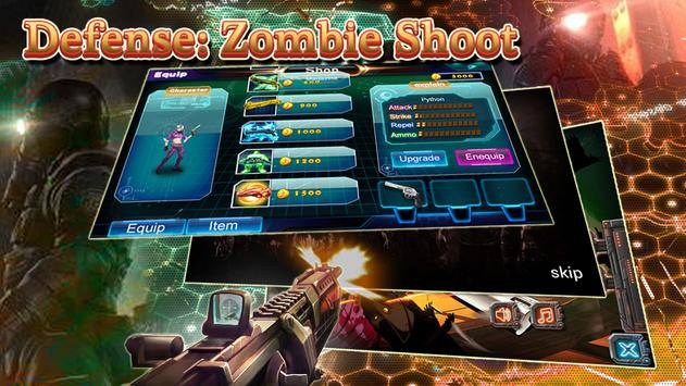Defense: Zombie Shoot screenshot 4