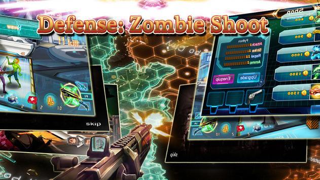 Defense: Zombie Shoot screenshot 5