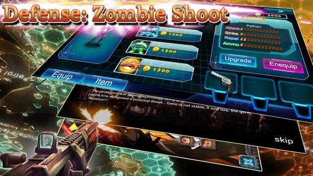 Defense: Zombie Shoot poster