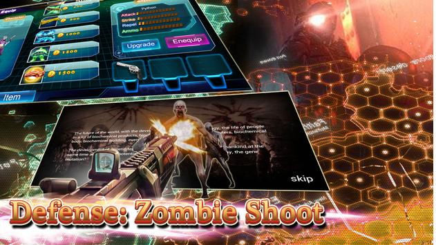Defense: Zombie Shoot screenshot 1