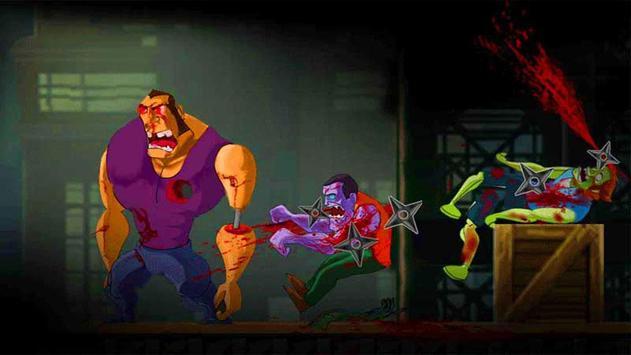 Girl Ninja VS Zombie poster