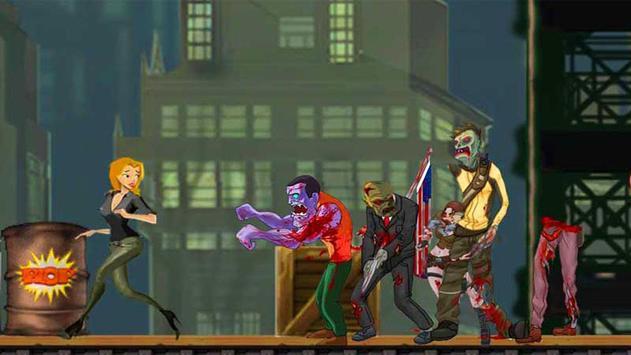 Girl Ninja VS Zombie apk screenshot