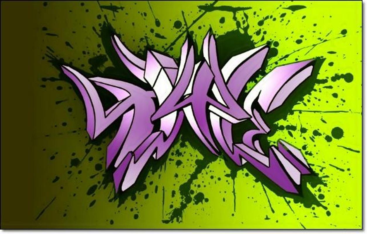 Graffiti 3d design creator screenshot 13