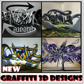 Graffiti 3D Designs New icon