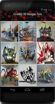Graffiti 3D Designs New apk screenshot