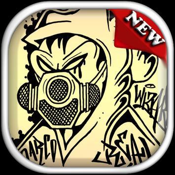 Drawing Graffiti Characters apk screenshot
