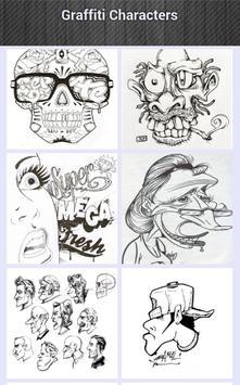 Graffiti Characters apk screenshot