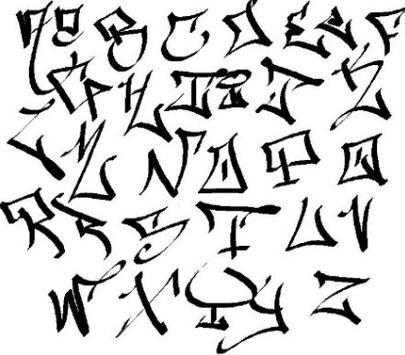 Graffiti Alphabet apk screenshot