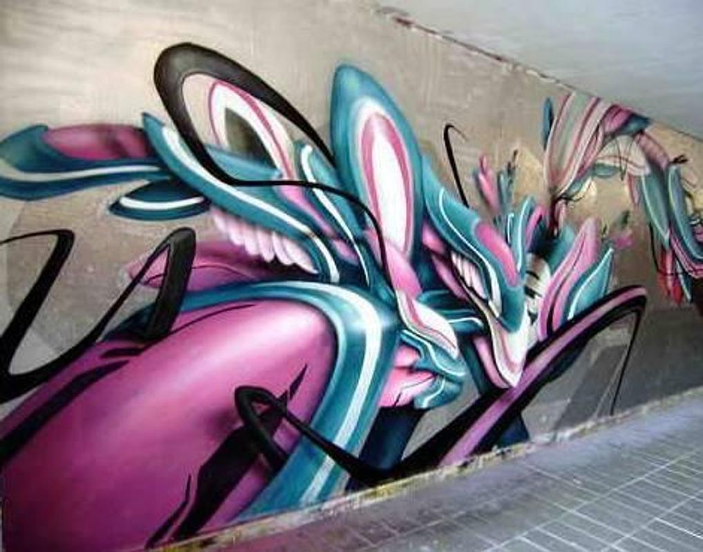 3d graffiti art screenshot 9