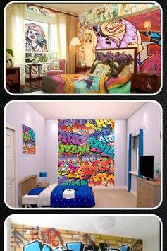 Graffiti Bedroom Walls apk screenshot