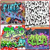Graffiti Fonts Design icon