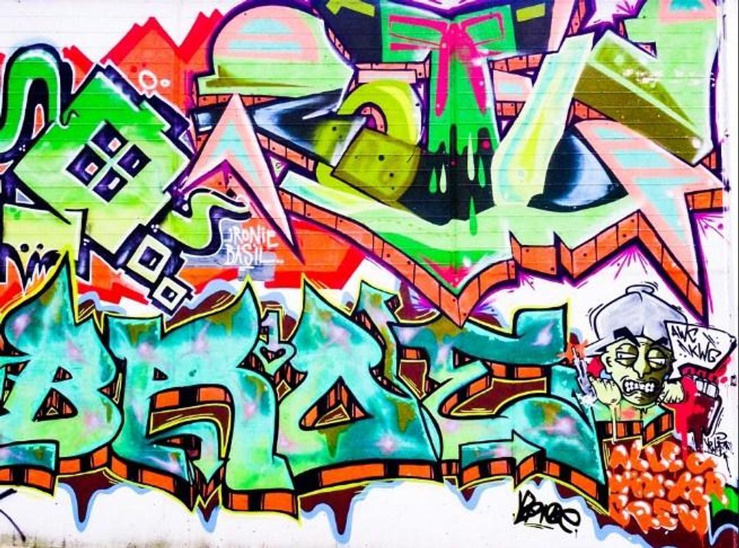 Graffiti fonts design screenshot 4