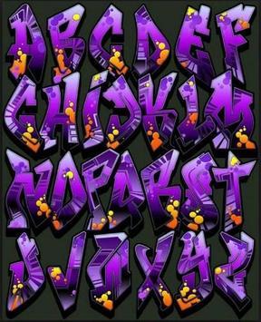 Graffiti Fonts Design apk screenshot