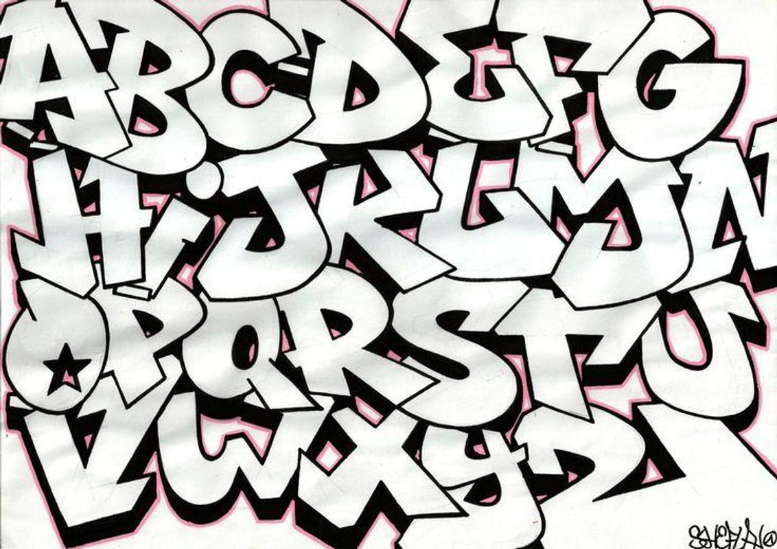 Graffiti letters a z screenshot 5
