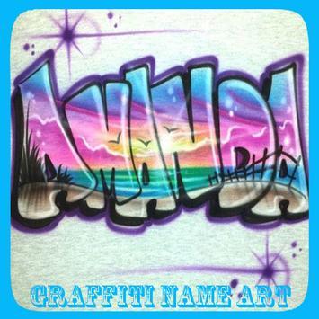 Graffiti Name Art poster