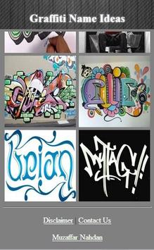 Graffiti Name Ideas screenshot 1